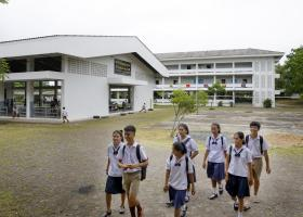 Renovation of a school\'s roof